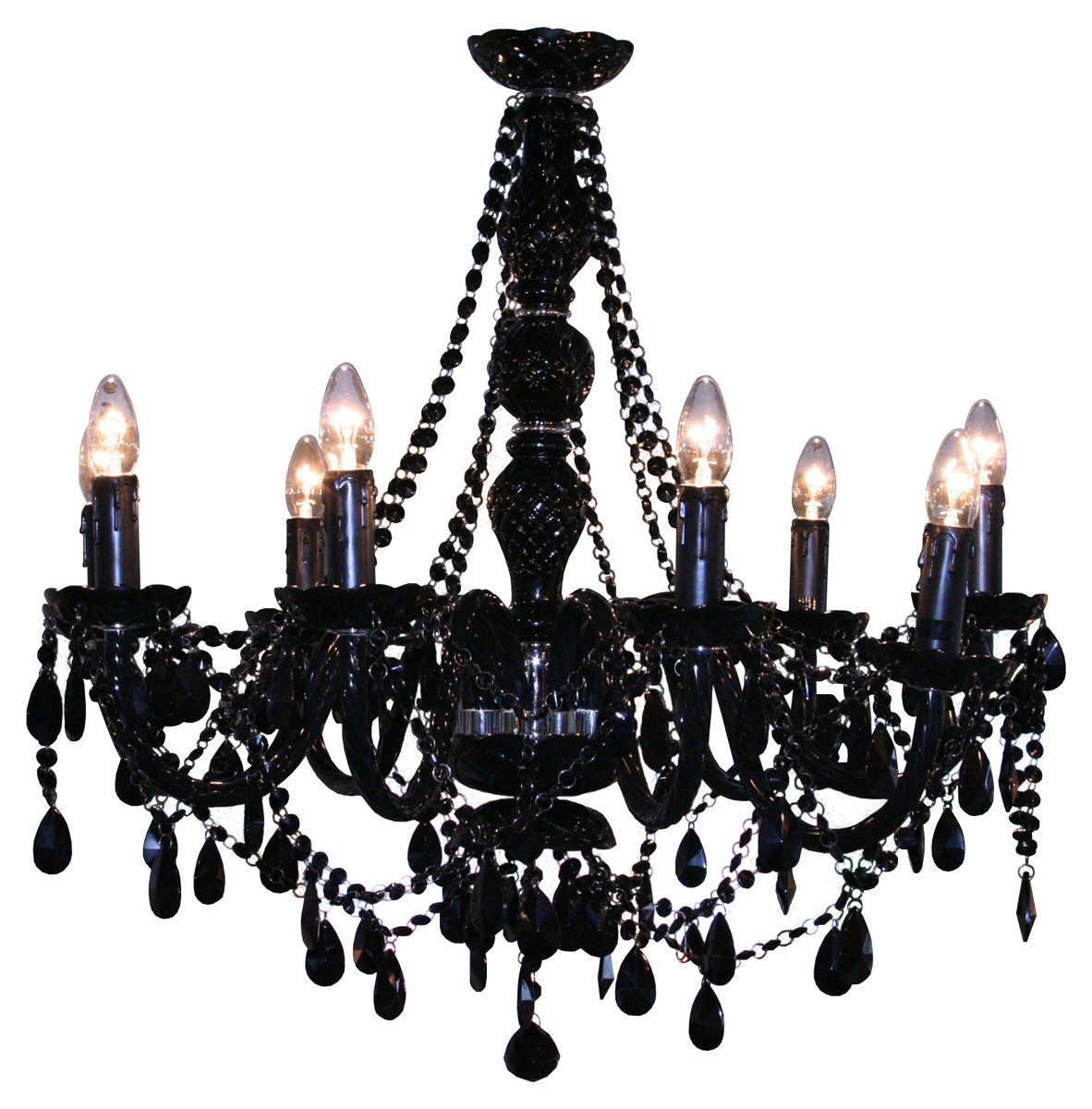 Chandelier black bubble nyc mozeypictures Choice Image