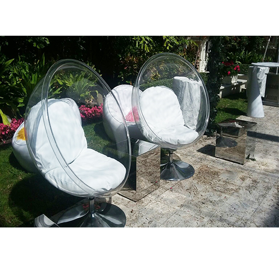 Charmant Bubble Chair Clear Categories: Chairs, Accent Chairs. Acrylic And Chrome  Base